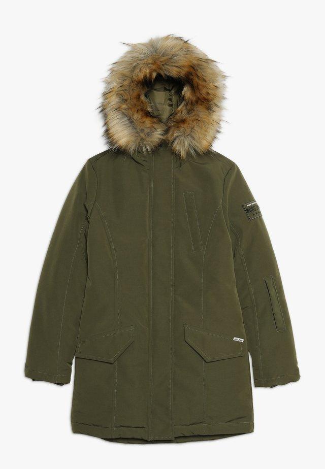 KIDS SEQUOIA - Winter coat - army