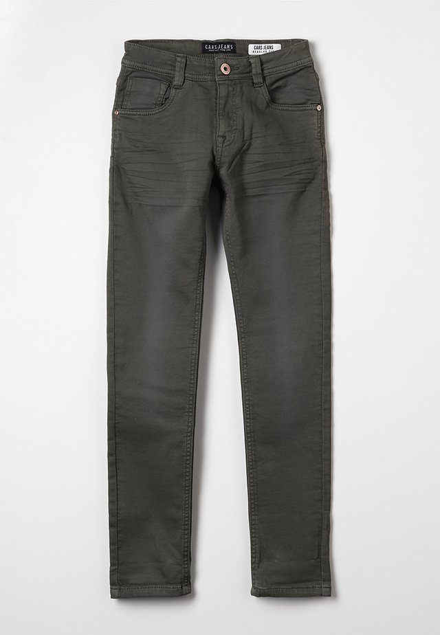 KIDS PRINZE  - Jeans straight leg - dark army