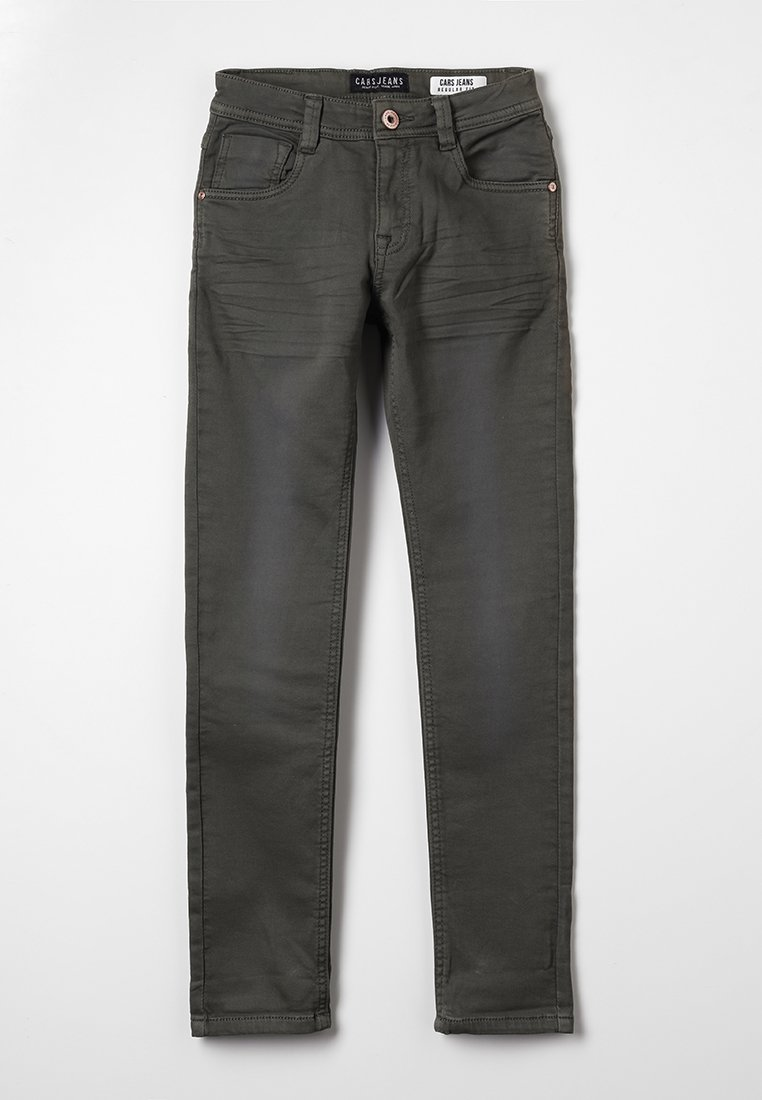 Cars Jeans - KIDS PRINZE  - Straight leg jeans - dark army