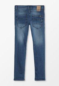 Cars Jeans - KIDS PATCON - Slim fit jeans - dark used - 1