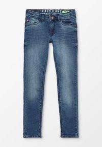 Cars Jeans - KIDS PATCON - Slim fit jeans - dark used - 0