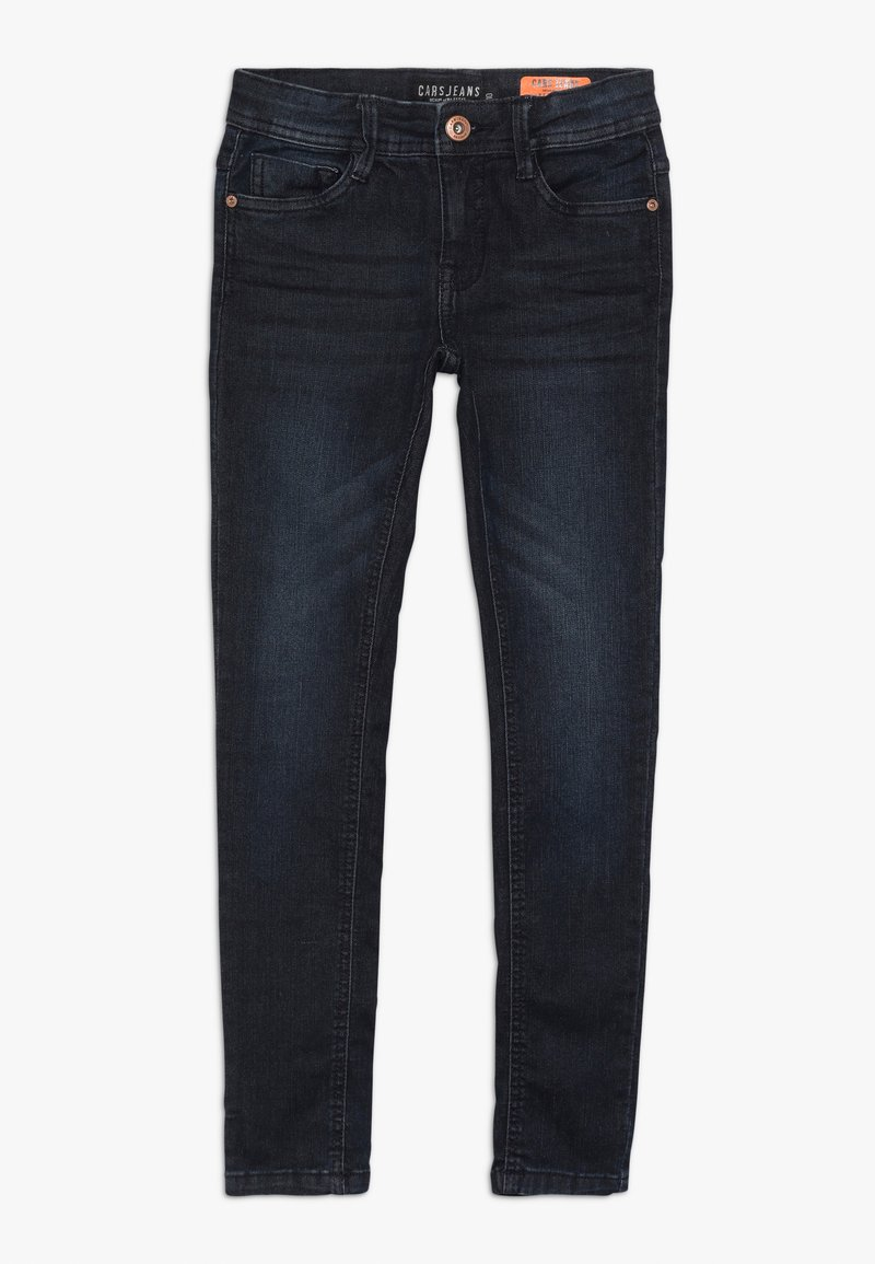 Cars Jeans - KIDS DAVIS - Jeans Skinny Fit - black blue
