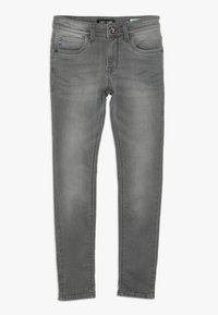 Cars Jeans - KIDS BURGO - Slim fit jeans - grey used - 0