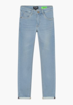 KIDS ABURGO - Slim fit jeans - light-blue denim