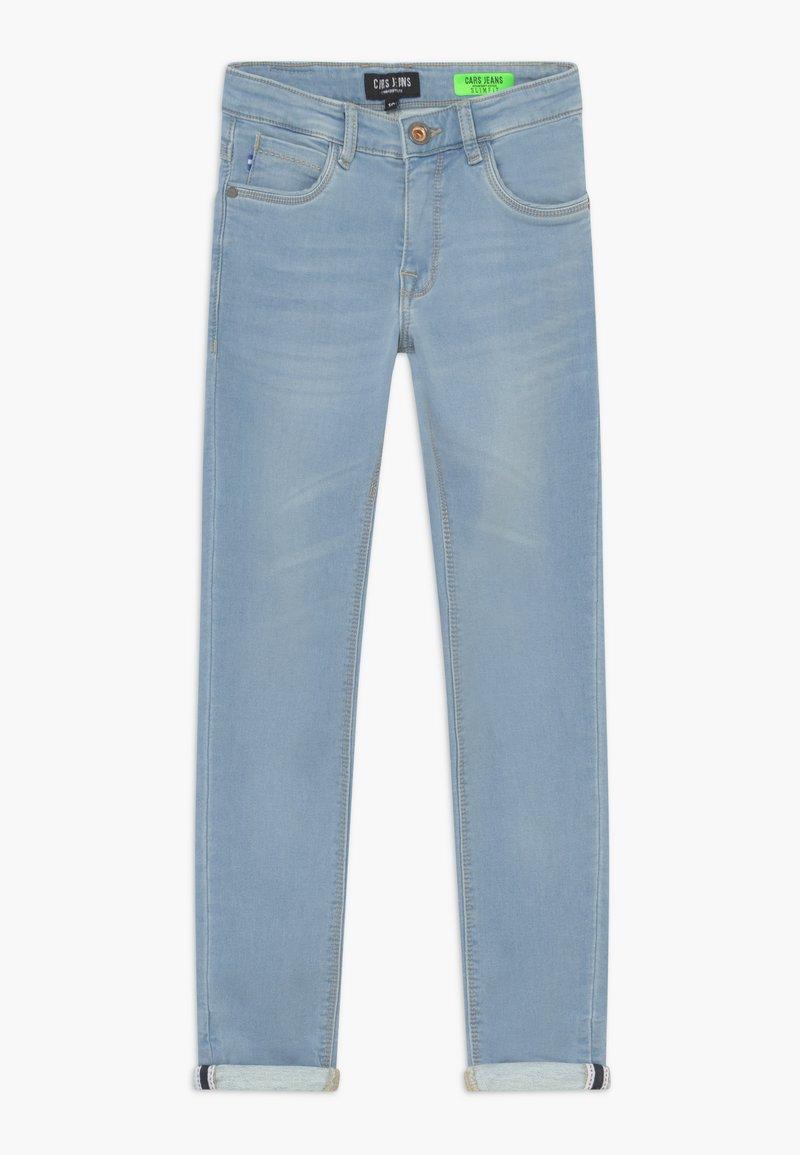 Cars Jeans - KIDS ABURGO - Slim fit jeans - light-blue denim