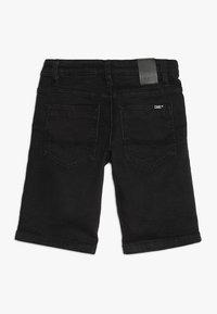 Cars Jeans - KIDS TUCKY - Džínové kraťasy - black used - 1
