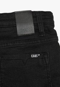 Cars Jeans - KIDS TUCKY - Džínové kraťasy - black used - 4