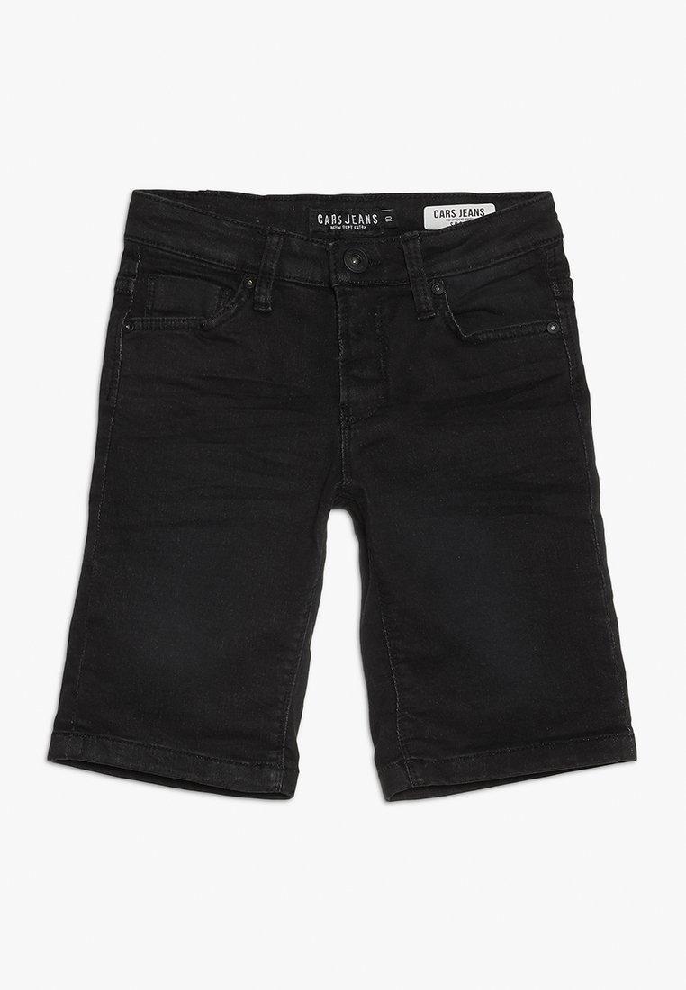 Cars Jeans - KIDS TUCKY - Džínové kraťasy - black used