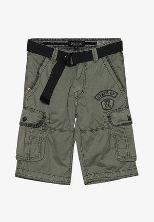 GRASCIO - Pantalones cargo - olive