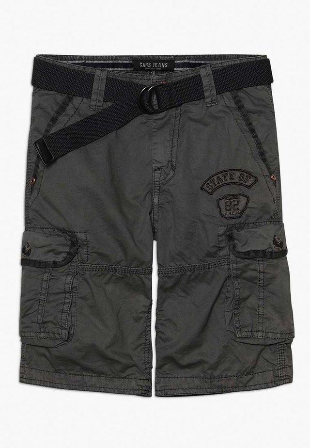 GRASCIO - Cargo trousers - anthracite