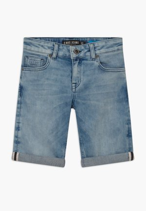 KIDS TRANES - Džínové kraťasy - light-blue denim