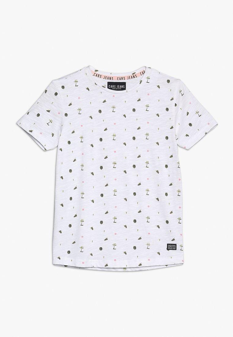 Cars Jeans - BRONTE - Print T-shirt - white