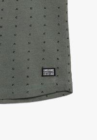 Cars Jeans - TRONTO - Triko spotiskem - army - 3
