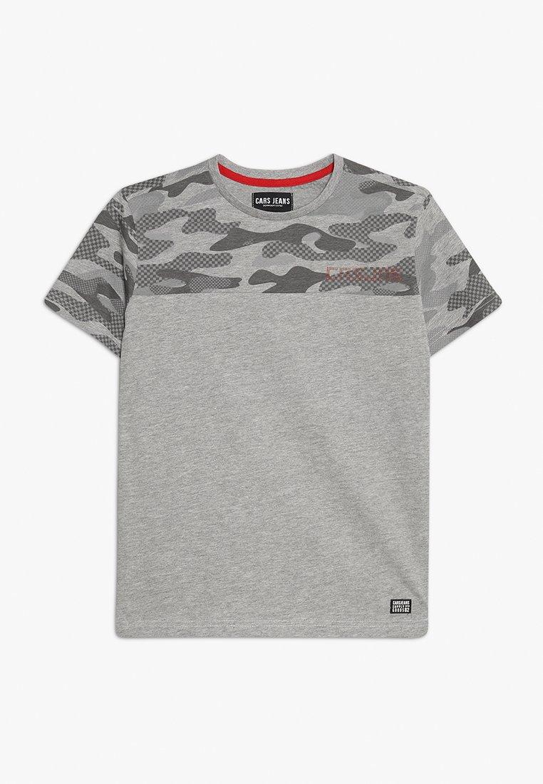 Cars Jeans - DEFINE - T-shirt print - grey melee
