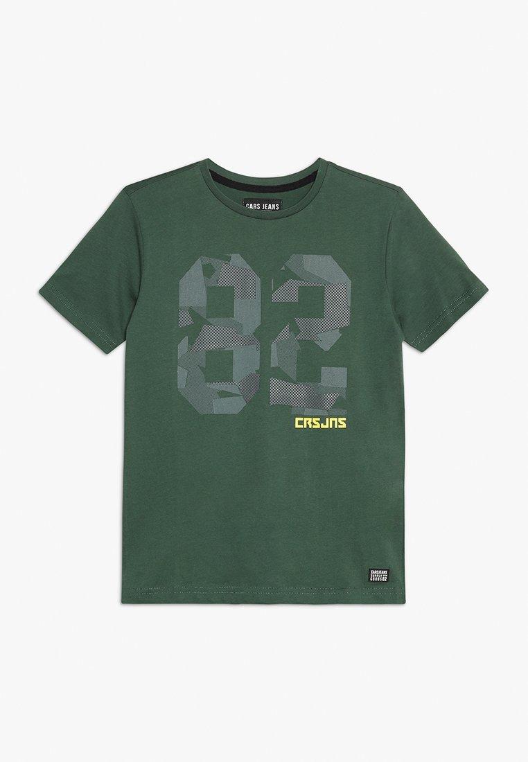 Cars Jeans - KIDS DOZER - T-shirt print - sea green