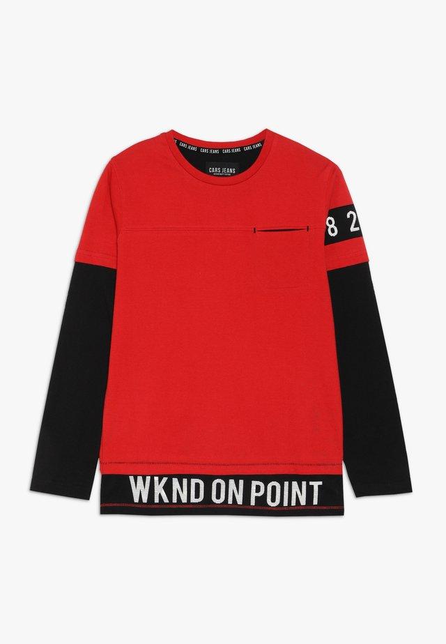 KIDS FIGNI - Langarmshirt - black