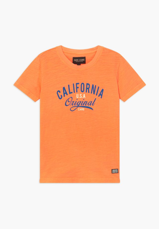 KIDS DUNTER - T-Shirt print - neon orange