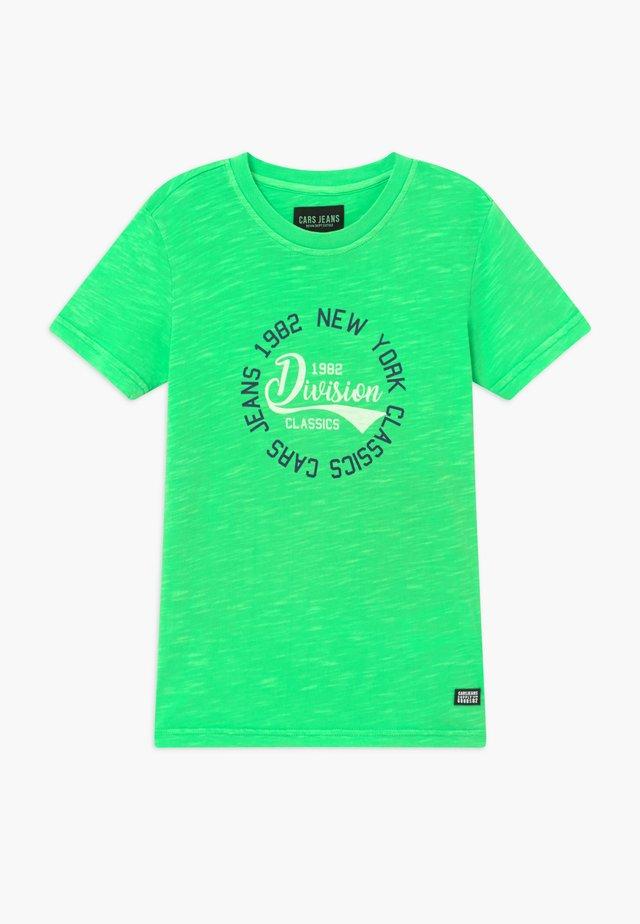 KIDS DUNTER - Camiseta estampada - neon green