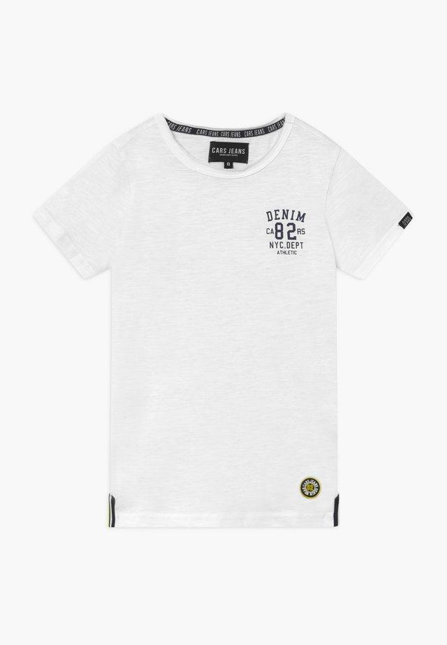 KIDS SKYE - Camiseta estampada - white