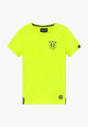 KIDS SKYE - Triko spotiskem - neon yellow