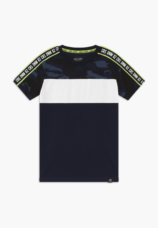 KIDS LOGAN - Camiseta estampada - navy