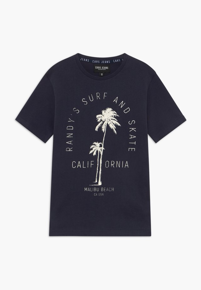 KIDS CLARCK - Camiseta estampada - navy