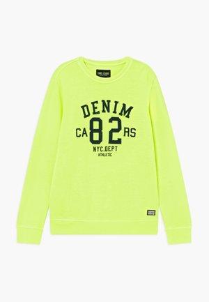 KIDS BOYCAR  - Sweater - neon yellow
