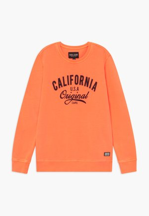 KIDS BOYCAR  - Sweater - neon orange