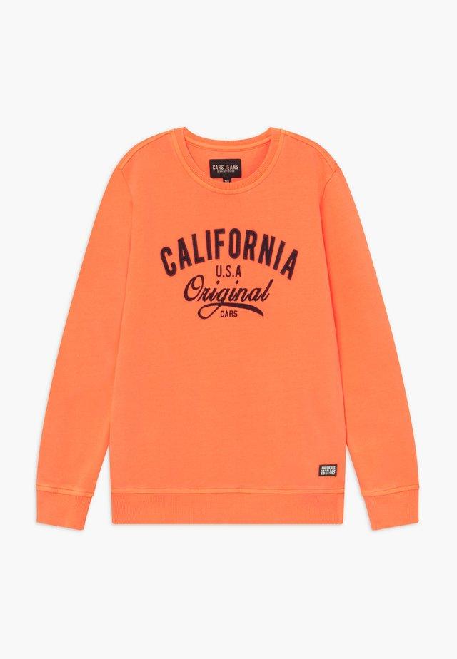 KIDS BOYCAR  - Collegepaita - neon orange