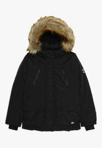 Cars Jeans - KIDS DEMPSEY  - Zimní bunda - black - 0
