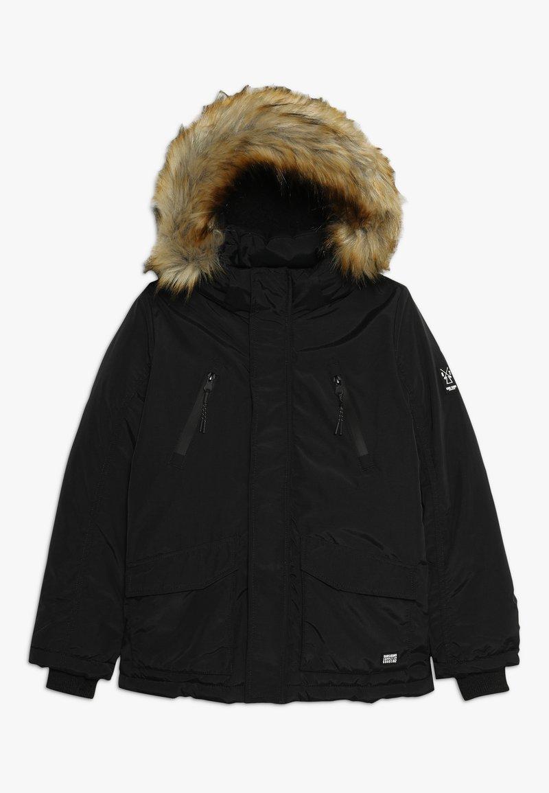 Cars Jeans - KIDS DEMPSEY  - Zimní bunda - black
