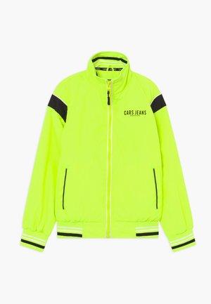 Lehká bunda - neon yellow