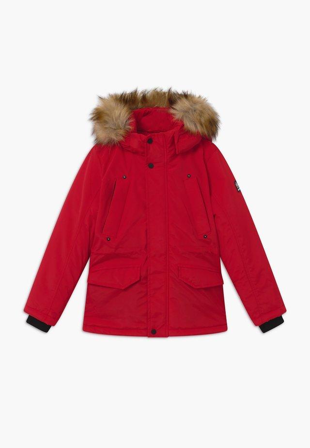 KIDS ZAGARE - Winter coat - red