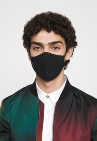 Capo - FACEMASK SINGLE - Stoffmaske - black - 4