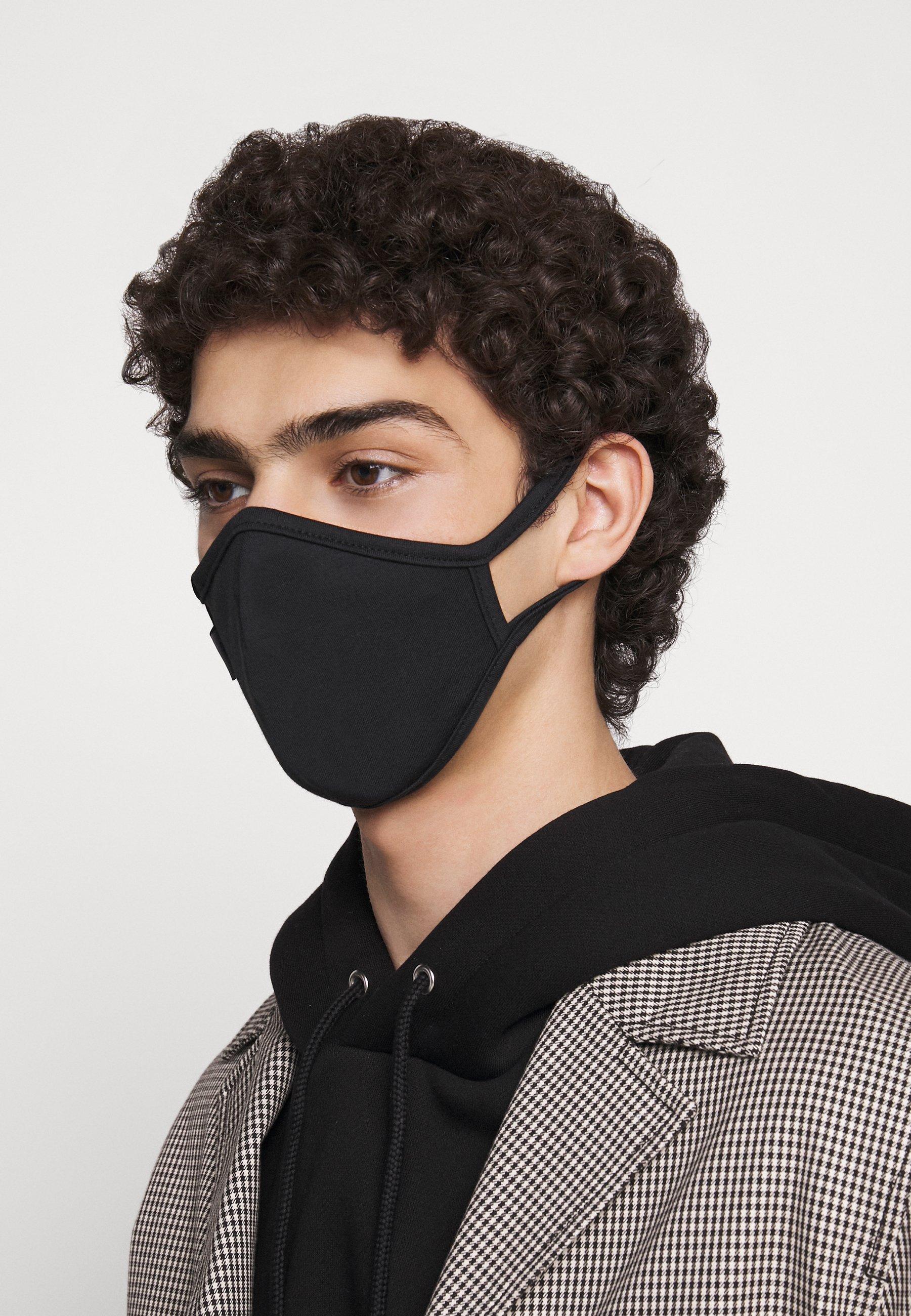 Capo FACEMASK 2 PACK - Stofmaske - black
