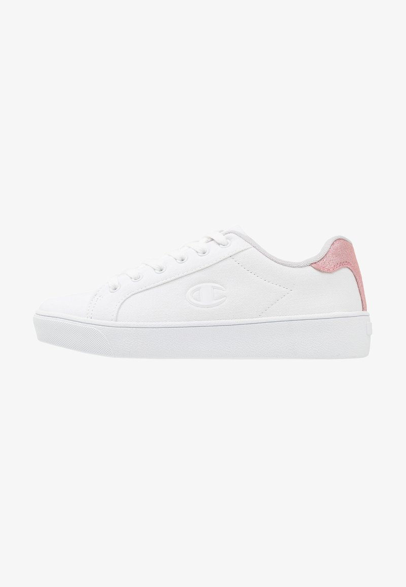 Champion - LOW CUT SHOE ALEX - Sports shoes - white/pink