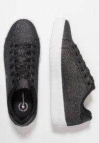 Champion - LOW CUT SHOE ALEX GLITTER - Sportovní boty - new black - 1