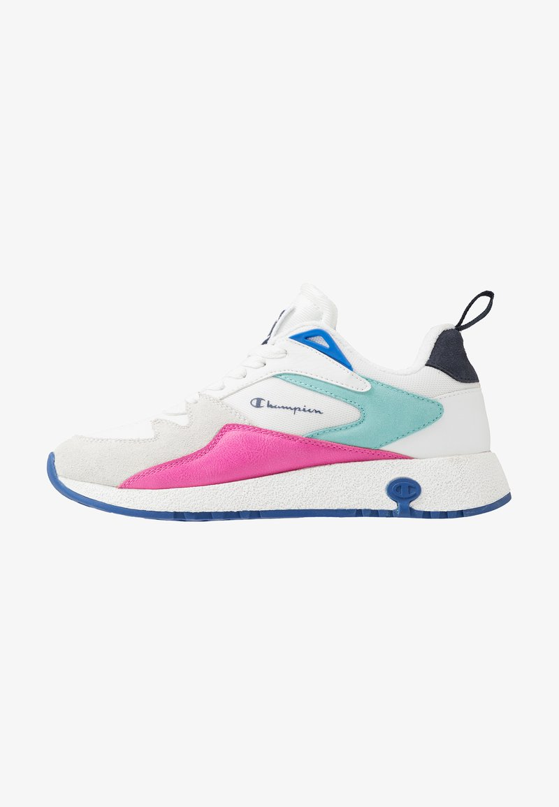 Champion - LOW CUT SHOE AUSTIN - Chaussures de running neutres - white/pink