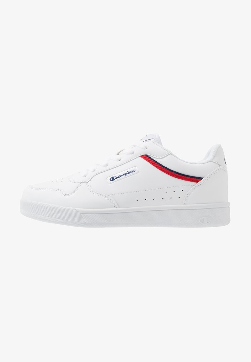 Champion - LOW CUT SHOE NEW COURT - Obuwie treningowe - white/red
