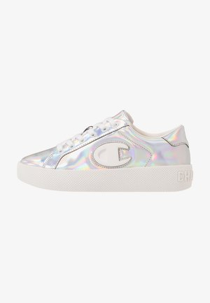 LOW CUT SHOE ERA IRIDESCENT - Trainers - silver metallic