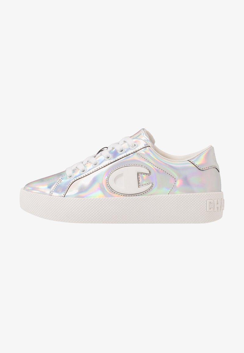Champion - LOW CUT SHOE ERA IRIDESCENT - Sneaker low - silver metallic