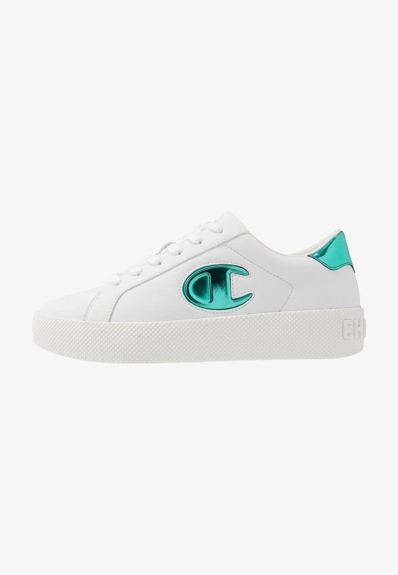 Champion - LOW CUT SHOE ERA GEM - Sports shoes - white/mint