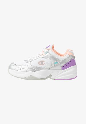 LOW CUT SHOE PHILLY - Obuwie treningowe - white/grey/pink