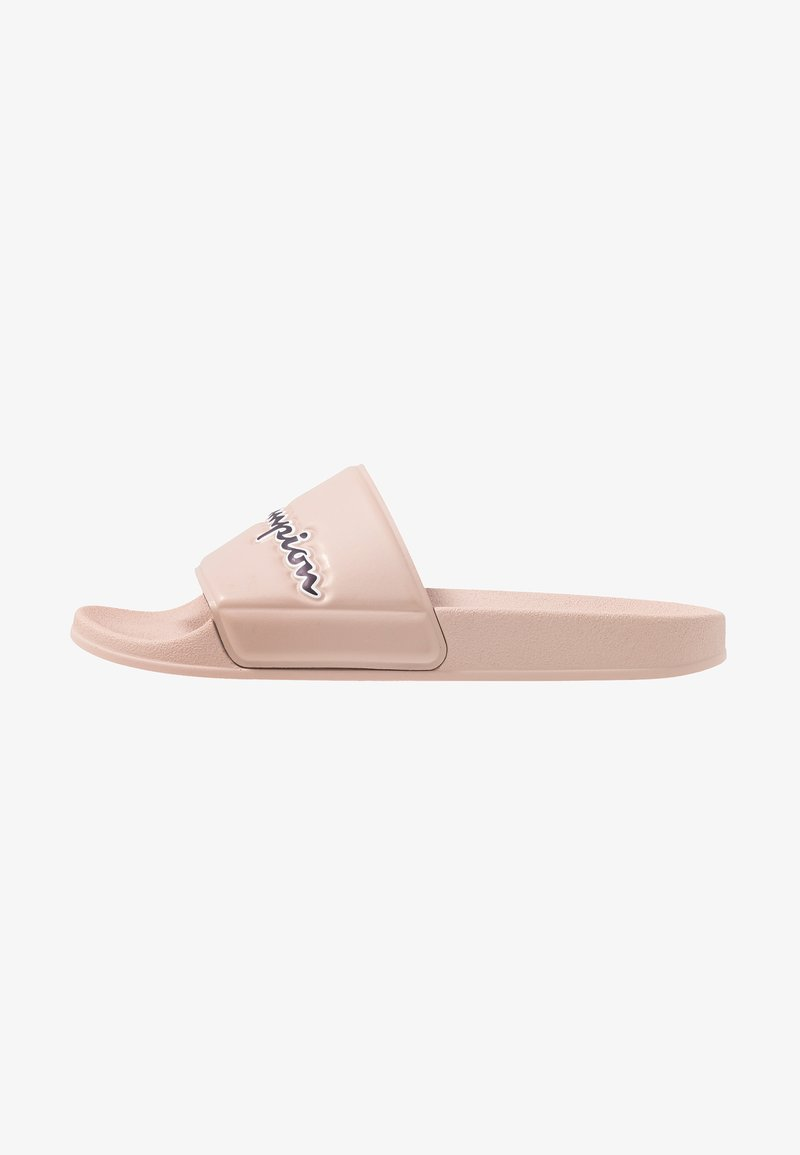 Champion - SLIDE M-EVO SCRIPT - Badslippers - triple pink