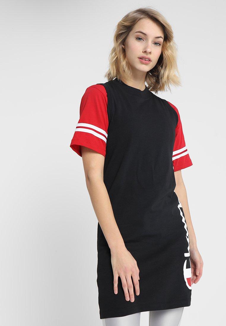 Champion - DRESS - Jerseyjurk - black