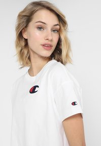Champion - CREWNECK - T-shirt basic - white - 3