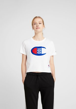 WOMENS CROP TEE - T-shirt con stampa - white