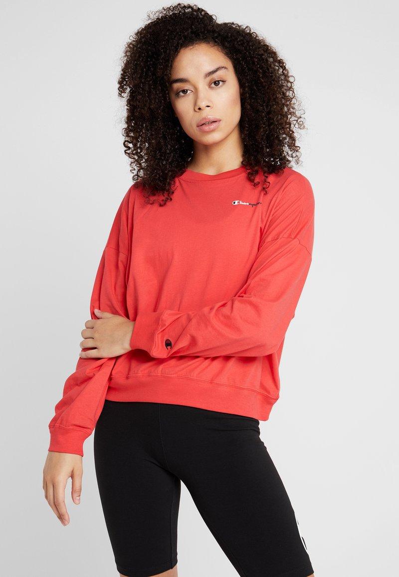 Champion - CREWNECK - Langærmede T-shirts - red