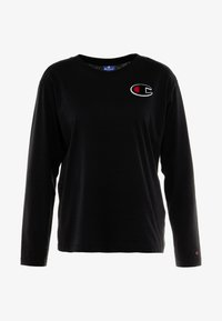 Champion - CREWNECK - Long sleeved top - black - 4