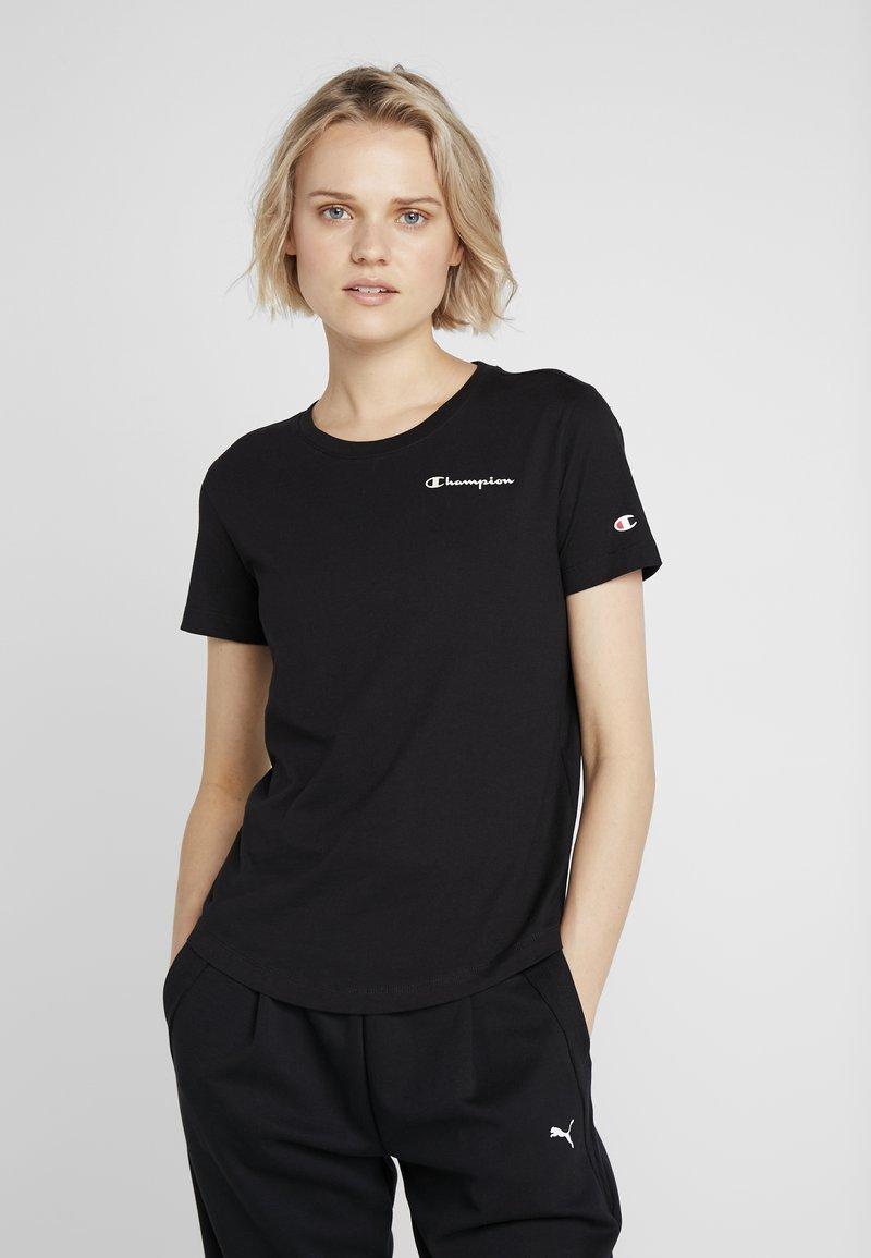 Champion - CREWNECK  - T-shirts basic - black